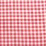 Tissu enduit vichy rouge 15mm