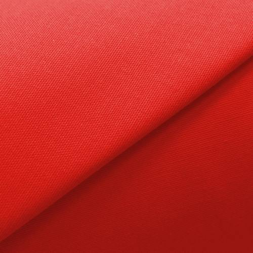 Toile coton rouge tomate grande largeur