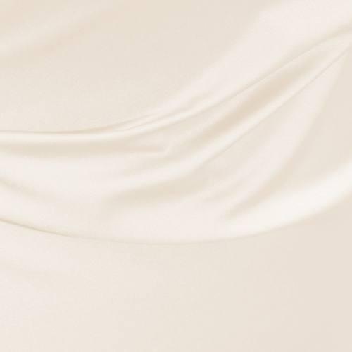 Satin microfibres ivoire