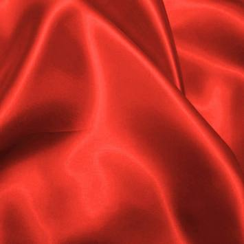 Satin uni rouge 110cm