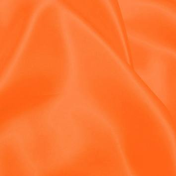 Satin uni orange fluo