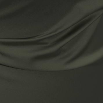 Satin microfibre royal gris souris
