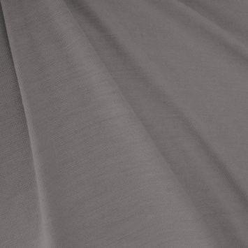 Jersey viscose uni gris de lin