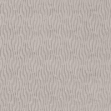 Tissu plissé grège