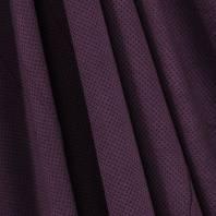 Suédine d'habillement extensible aubergine perlée