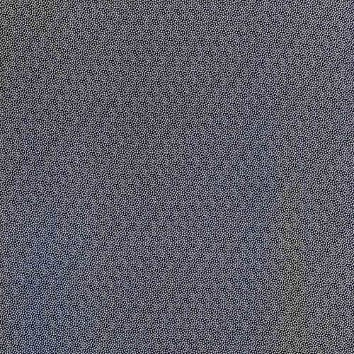 Tissu microfibre bleu marine imprimé petites fleurs