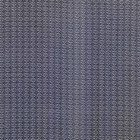 Tissu mousseline bleu imprimé fleuri