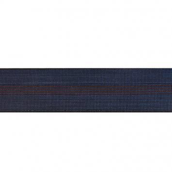 Sangle tapissière elastique bleu 70mm