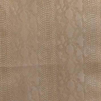 Simili cuir Dragon vernis laiton