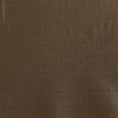 Simili cuir cobra à paillettes taupe