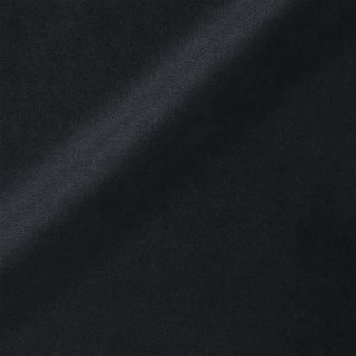 Velours teflon uni noir 450 gr