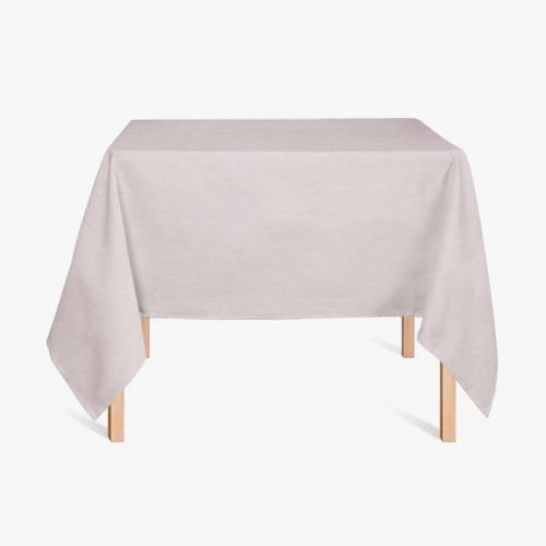 Tissu enduit gris de lin