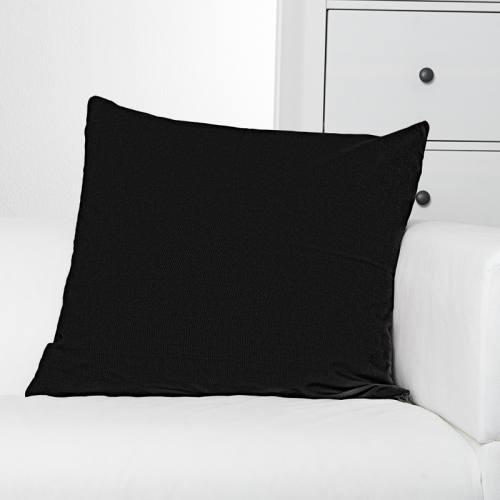 Toile coton noire grande largeur