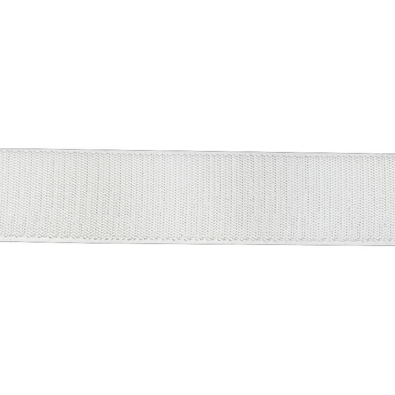 Auto agrippant adhésif crochet 50 mm blanc