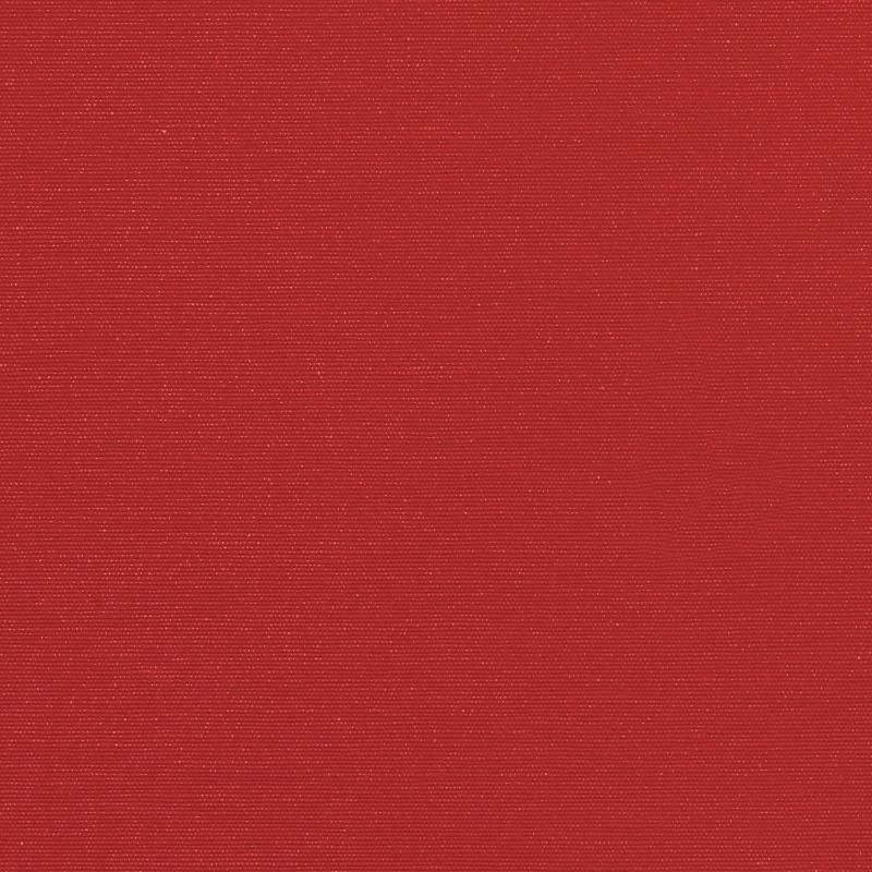 Toile polycoton rouge envers gomme