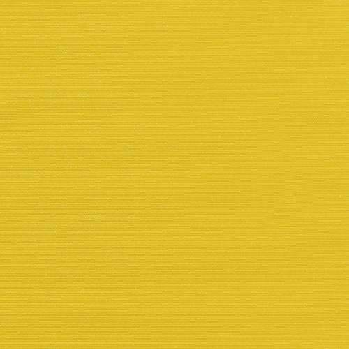 Toile polycoton jaune envers gomme