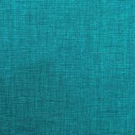 Toile polycoton bleue chinée grande largeur