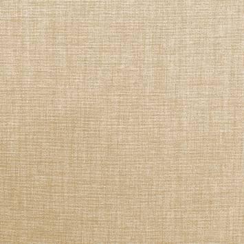 Toile polycoton beige chinée grande largeur