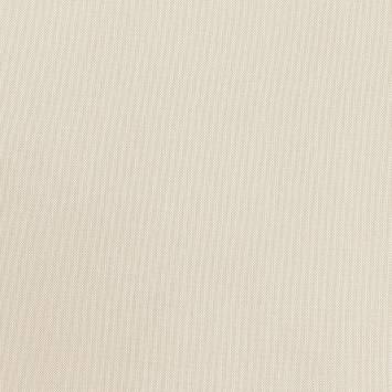 Tissu exterieur téflon natté blanc métallisé