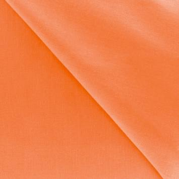 Polycoton uni orange