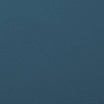 Coton uni bleu jean