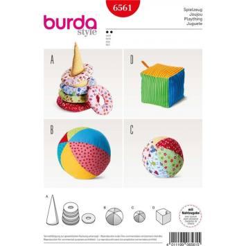 Patron Burda 6561 Jeux pour enfant