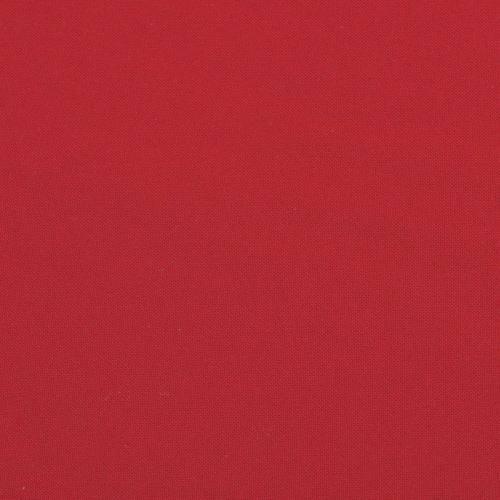 Burlington infroissable grande largeur rouge
