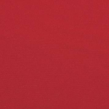 Burlington infroissable grande largeur rouge