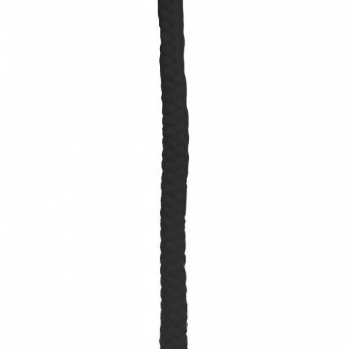 Corde tressée noire 11 mm