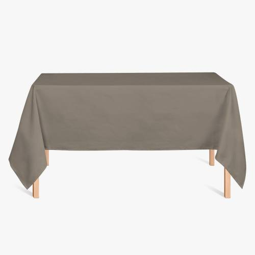 Burlington infroissable grande largeur taupe