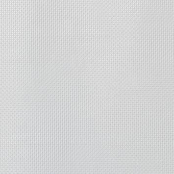Simili cuir laqué motif carrés incrustés blanc