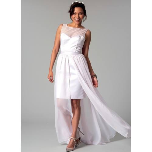 Patron Mc Call's M7507 Robes de mariée pour jeune femme 34-42