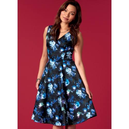 Patron Mc Call's M7503 Robes pour jeune femme 42-50