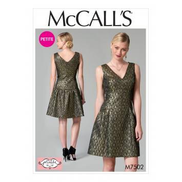 Patron Mc Call's M7502 Robes pour jeune femme 42-50