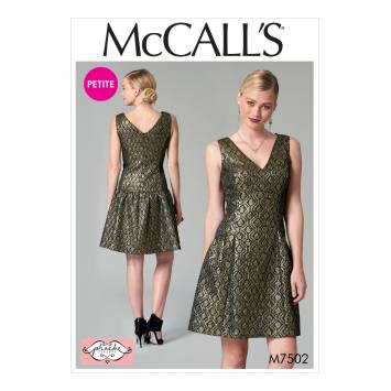Patron Mc Call's M7502 Robes pour jeune femme 34-42
