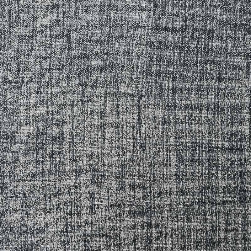 Tissu occultant chiné anthracite pas cher - Tissus Price