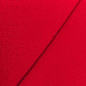 Tissu crêpe gaufré rouge