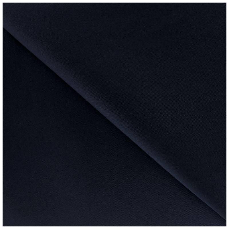 gabardine satin bleu marine pas cher tissus price. Black Bedroom Furniture Sets. Home Design Ideas