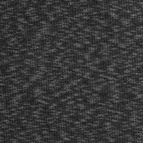Maille chinée noire