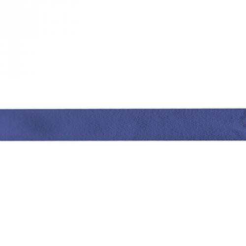Ruban sergé bleu roi 25mm