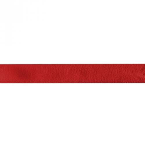 Ruban sergé rouge foncé 25mm