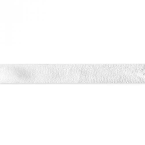 Ruban sergé blanc 25mm