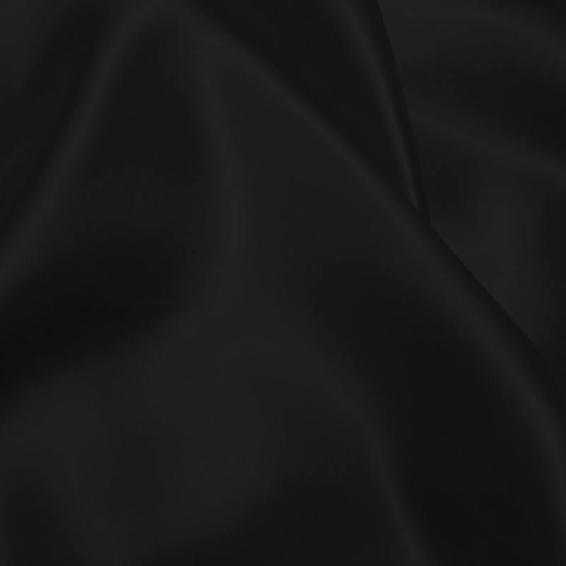 Satin de soie noire
