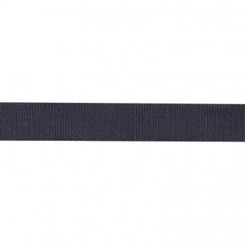 Sangle Coton 30mm bleu nuit