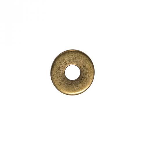 Anneau métal plat laiton