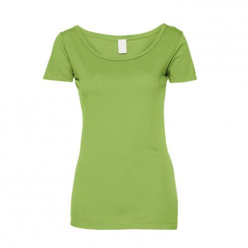Jersey uni vert pistache