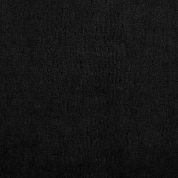 Velours extensible noir