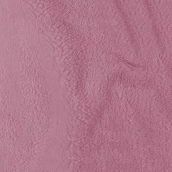 Tissu polaire microfibre rose