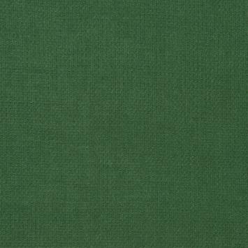 Lainage tissé vert sapin