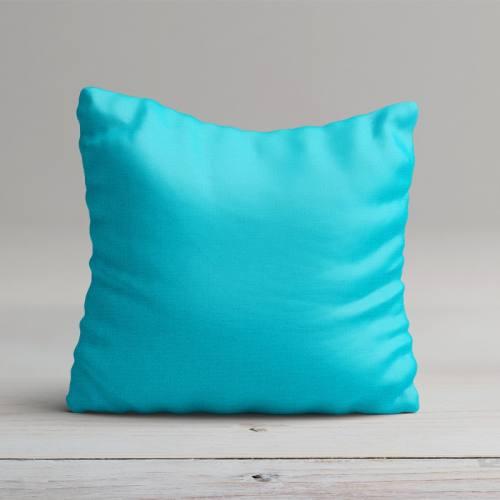 Tissu coton bleu turquoise grande largeur